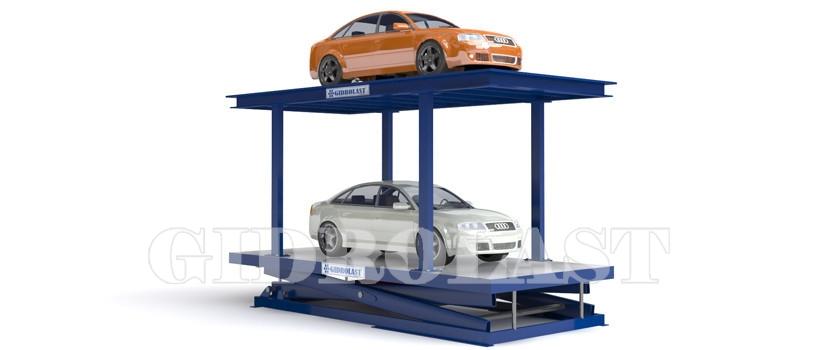 Hydraulic parking lift