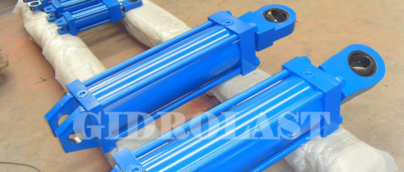 Hydraulic cylinders for marine and shipyard use